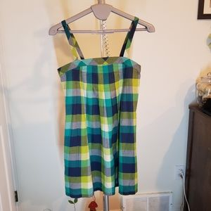 Roxy plaid summer dress